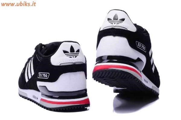 adidas zx 750 bianco rosso
