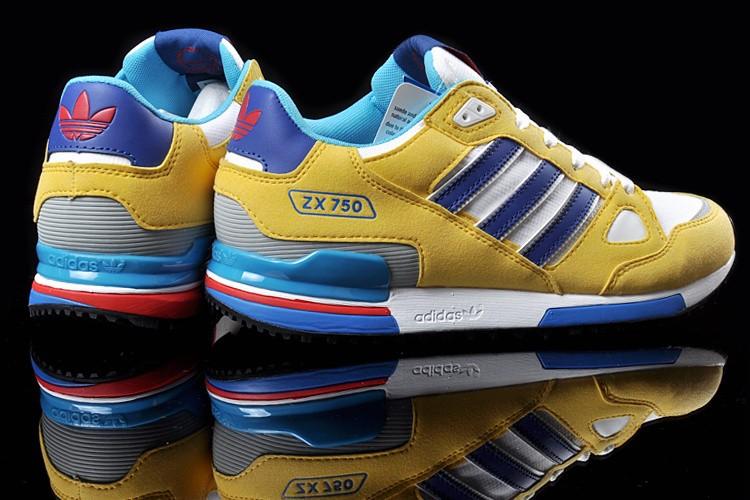 scarpe adidas zx 750 giallo bianco blu 63% di sconto www
