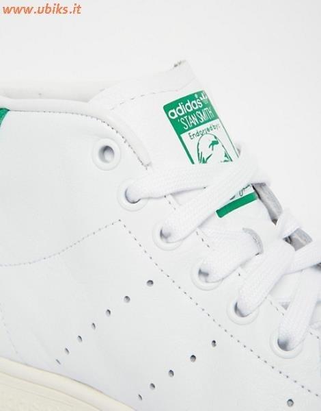 adidas stan smith bianche e verde